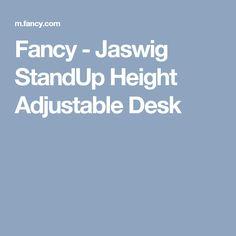 Fancy - Jaswig StandUp Height Adjustable Desk