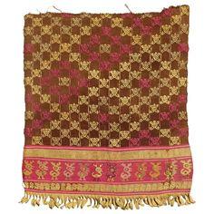 Pre-Colombian Tunic Fragment, Chimu Culture, Peru, 15th Century 1
