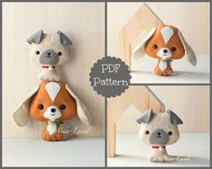 Cute dogs. PDF Pattern.