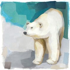 #Wapusk Polar Bear - Darren Booth Animals Art multicityworldtravel.com We cover the world over Hotel and Flight Deals.We guarantee the best price