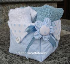 Idea regalo per un bimbo appena nato. Buona serata Ciao