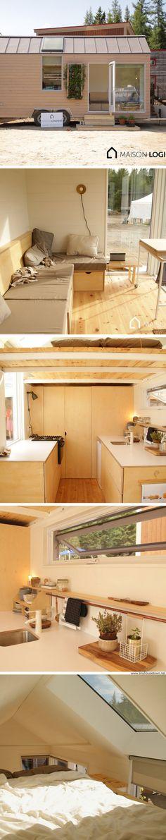 The Novio tiny house from Ma Maison Logique