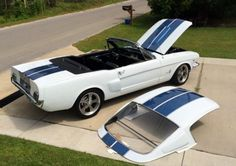 1965 Ford Mustang Removable Fastback Hardtop Convertible