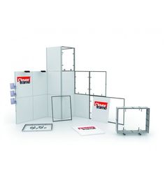 Clever Frame is a robust and modular display system that's so simple to use you don't need any training, tools or muscle power.