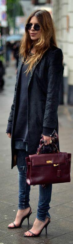Laura Ashley Blue Women's Velvet Long Line Blazer by MAJA WYH