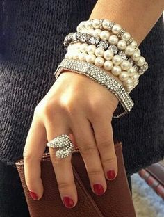 Wow. Wrist candy just came alive.