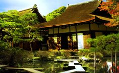 Chinese Tea House HD Wallpaper