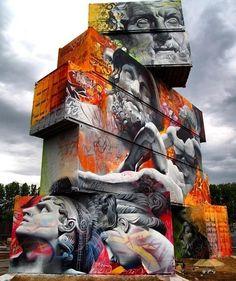 Never seen something like this piece by @pichiavo #streetart #art #contemporaryart #belgium pic.twitter.com/xCHJwBxuWh