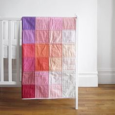 Image of Grid Quilt: Berry One of One