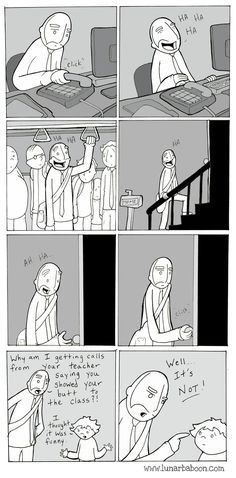 lunarbaboon - Comics - call   Literally me as a parent