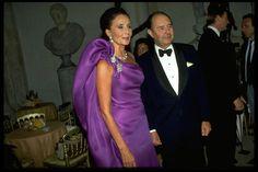 Jacqueline de Ribes and Edouard de Ribes. Photo by Robert Bourguet, 1991.