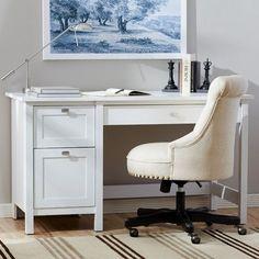 Three Posts Ackerson Pedestal Computer Desk & Reviews | Wayfair