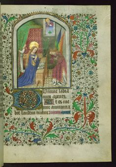 https://flic.kr/p/zF5xvd   Book of Hours (for use of Amiens), Annunciation…