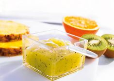 Mango-Kiwi-Fruchtaufstrich Rezept - bei Diamant Zucker Chutneys, Kiwi, Cooking Jam, Mango, Doritos, Marmalade, Jelly, Panna Cotta, Food And Drink