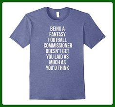Mens HILARIOUS Fantasy Football League T-Shirt Commissioner Joke 2XL Heather Blue - Fantasy sci fi shirts (*Amazon Partner-Link)