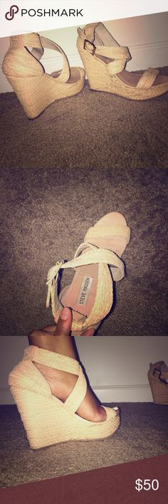Steve Madden sandal wedges Comfortable summer wedge Steve Madden Shoes Sandals