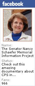 Georgia State Senator Nancy Schaefer Memorial Information Project - she was killed under suspicious circumstances, while working to expose CPS injustice.