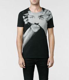 Mens Process Band Crew T-shirt (Jet Black)