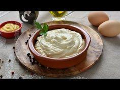 Maioneza vegana fara oua / Maioneza de post | JamilaCuisine - YouTube Vegan Mayonnaise, Raw Vegan, Vegan Food, Hummus, Icing, Peanut Butter, Vegan Recipes, Pudding, Ethnic Recipes