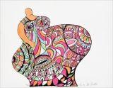 Serigrafia di Niki De Saint Phalle - NANA POMME DE TERRE