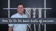 This tutorial is for beginners who need to learn macrame art essential. This video shows us How to tie the basic knots of Macramé! you can made different types of macrame projects by using this macrame knots. Hope you like this video as well, thanks for Macrame Design, Macrame Art, Macrame Projects, Micro Macrame, How To Macrame, Macrame Hanging Chair, Macrame Chairs, Macrame Curtain, Hanging Pots