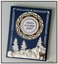 Stampin' Up! Eastern palace suite, Carols of Christmas, Card Front Builder Dies. Christmas Cards 2018, Stampin Up Christmas, Christmas Carol, Holiday Cards, Christmas Ideas, Xmas, Holiday Decor, Eastern Palace, Christmas Traditions