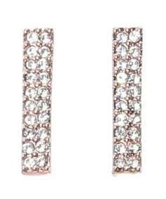 Vince Camuto C400898 #accessories  #jewelry  #earrings  https://www.heeyy.com/suggests/vince-camuto-c400898-rose-gold-crystal/