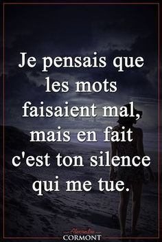 How to stop the radio silence the essential actions Citation Silence, Silence Quotes, Top Quotes, Words Quotes, Life Quotes, French Quotes, Morning Humor, Looking For Love, Some Words