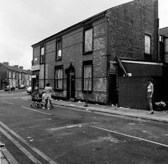 'After Kickoff', Lake Street towards Vienna Street, Everton - The Independent