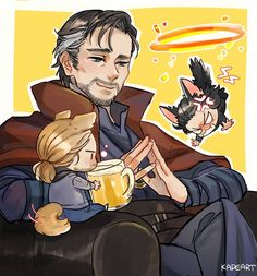 Doctor Strange, Thor and Loki Thor X Loki, The Avengers, Marvel Dc Comics, Marvel Heroes, Marvel Avengers, Funny Marvel Memes, Marvel Jokes, Benedict Cumberbatch, Marvel Fanart