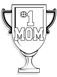 mother day best mom medal coloring picture for kids mother s day