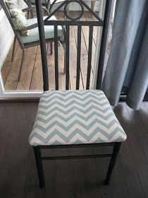 My Bucket List of Crafts, Recipes, and Home Projects: Recovering Seat Cushions