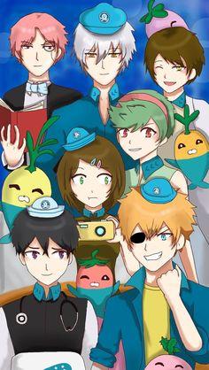 Human Octonauts Anime