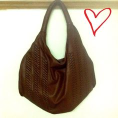 Trendy Brown Vegan Leather Shoulder Bag This trendy brown bag is perfect for any season! It is absolutely gorgeous and has a place on each side of the bag to attach a longer strap to wear cross body. Does not come with longer strap. Bags Shoulder Bags