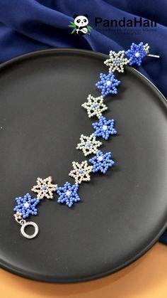 Diy Bracelets Patterns, Diy Bracelets Easy, Beaded Bracelet Patterns, Handmade Bracelets, Diy Friendship Bracelets Patterns, Beaded Bracelets, Bracelet Crochet, Handmade Wire Jewelry, Beaded Jewelry Designs