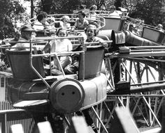 Kids enjoy the spinning amusment park rides on Boblo Island in this undated photo. (Detroit News Archives