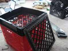 How too:step by step milk crate with lid instructionsPosted: Tue Nov 10, 2009 4:56 pm - Kayaking and Kayak Fishing Forum - SurfTalk