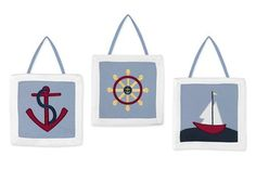 Sweet Jojo Designs Wall Hanging - Come Sail Away Sweet Jo... https://www.amazon.com/dp/B000S0VTNO/ref=cm_sw_r_pi_dp_8e9Cxb3V2ETGE