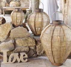 Riverdale bamboo lantern