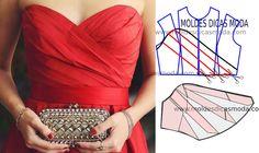 Detalhes e design de moda - Moldes Moda por Medida