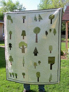 Sewnbyleila: My Tree Quilt