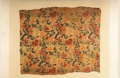 Han Dynasty Chengyun Embroidery One Of The Earliest Silk Fabrics Made By Textile Looms