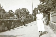 Lucia Joyce in 1932 in Feldkirch.  (Beinecke Rare Book and Manuscript Library, Yale University)