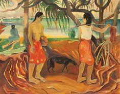 Scène à Tahiti by Paul Gauguin