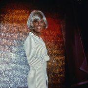 """The Doris Day Show"" Doris Daycirca 1970** I.V. Color, Blonde, Blond, Bob Hair, Bob Haircut, Stripe Dress, Striped, Side-Slit mptv_2016_Sep_to_Dec_Update"