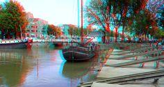 https://flic.kr/p/Lvc8US | Scheepshelling Oude Haven Rotterdam 3D | Willemspoort…