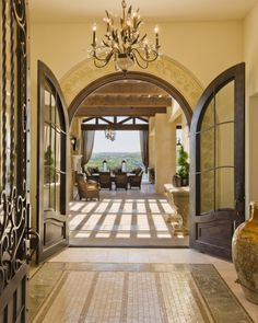 tuscan doors and arch ways