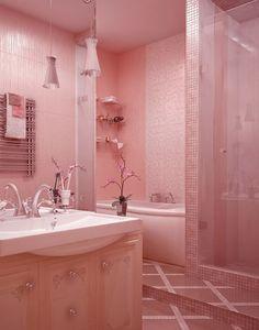 salle de bain rose3