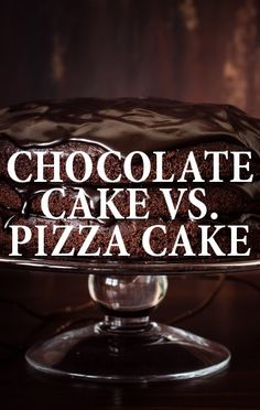 The Doctors played a game of 'Which is Worse' with a chocolate cake and a pizza cake. http://www.recapo.com/the-doctors/the-doctors-advice/drs-worse-cake-edition-million-dollar-healthy-home-giveaway/