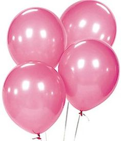 """Amazon.com: Custom, Fun & Cool {Big Large Size 12"""" Inch} 1500 Bulk Pack of Helium & Air Latex Rubber Balloons w/ Modern Simple Celebration Party Special Event Decor Design [In Pastel Pink]: Toys & Games"""